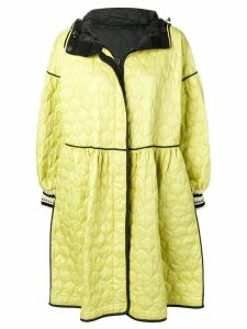 Ermanno Scervino patterned rain coat - Yellow