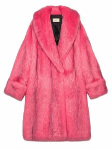 Gucci Oversize faux fur coat - 5155