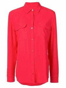 Equipment relaxed-fit shirt - Red