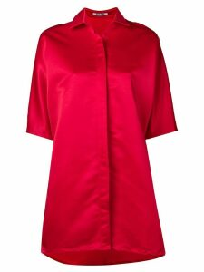 Styland oversized shirt dress - Red