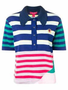 Hilfiger Collection knitted polo top - Blue