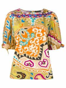 Etro paisley patterned blouse - Neutrals