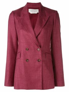 Gabriela Hearst double breasted blazer jacket - Pink