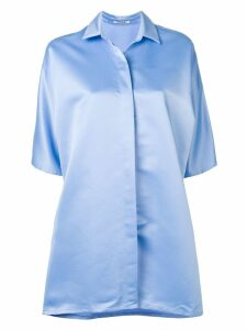 Styland Alba shirt dress - Blue