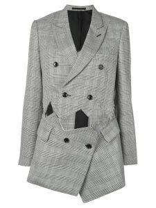 Comme Des Garçons deconstructed blazer - Black