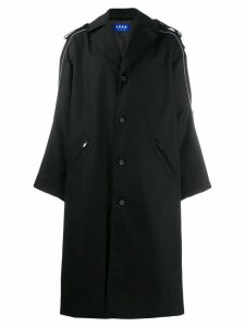 Ader Error oversized trench coat - Black