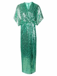 In The Mood For Love Vanessa sequined dress - Green