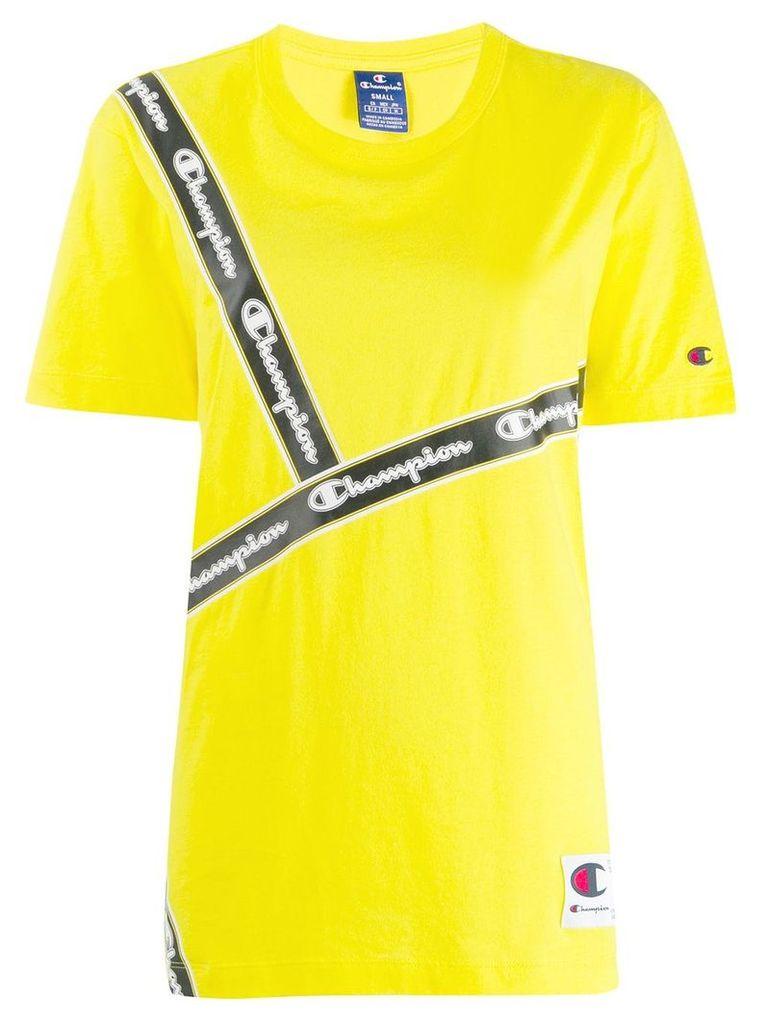 Champion logo tape T-shirt - Yellow
