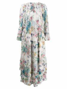 Zimmermann floral print dress - White