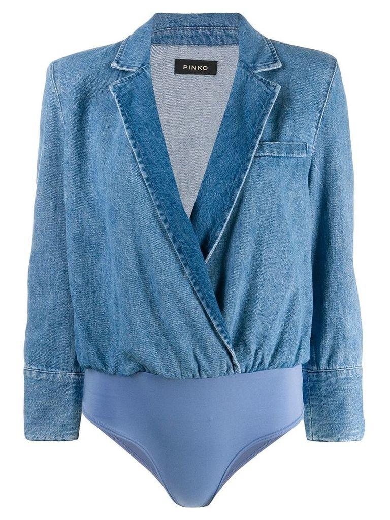 Pinko blazer body suit - Blue