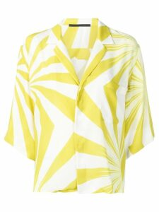 Haider Ackermann loose-fit printed blouse - White