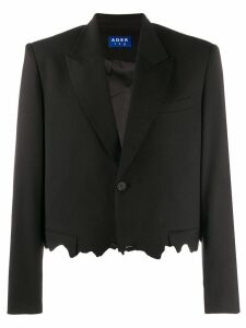 Ader Error chewed blazer - Black
