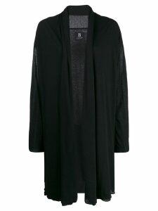 Yohji Yamamoto cardi-coat - Black