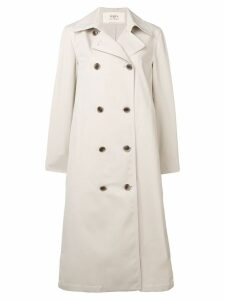 Ports 1961 long classic trenchcoat - Neutrals