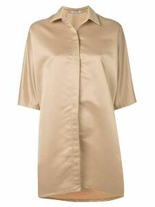 Styland oversized shirt dress - NEUTRALS