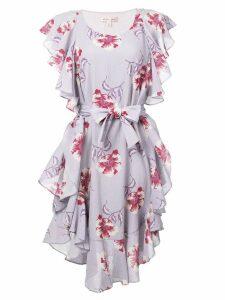 Morgan Lane Delphine ruffle dress - Purple