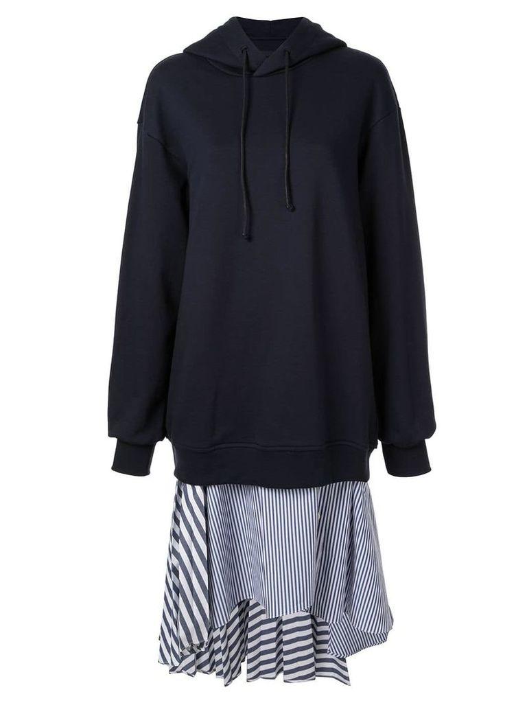 Juun.J oversized hoodie - Blue