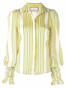 Alexis Catina striped shirt - Yellow