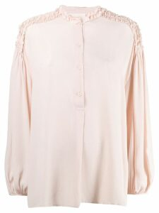 8pm ruffled blouse - Pink