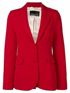 Ermanno Ermanno slim blazer - Red