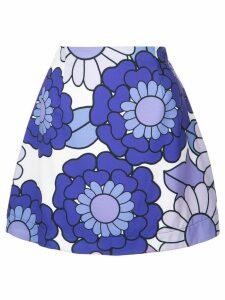 Dodo Bar Or short floral skirt - Purple
