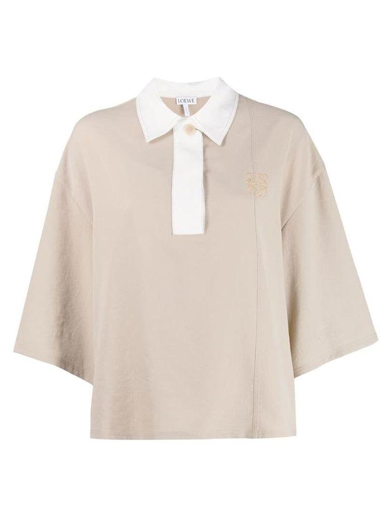 Loewe loose fit blouse - Neutrals