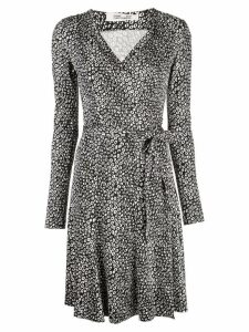 Diane von Furstenberg Julian jersey wrap dress - Black