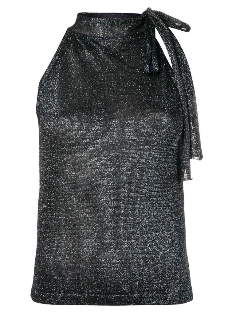 Missoni sleeveless lurex top - Blue