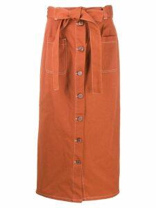 See By Chloé pop denim skirt - Orange