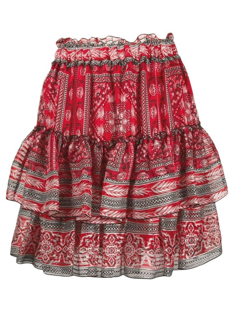 Isabel Marant ruffle tiered skirt