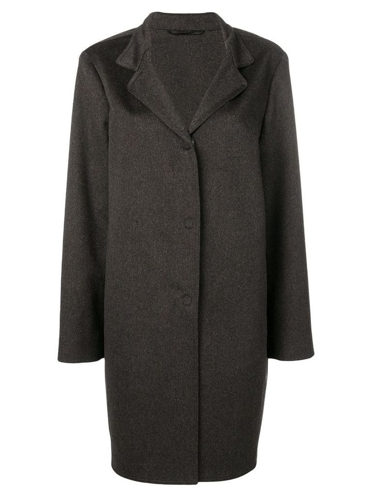 Liska single-breasted coat - Brown