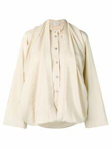 Lemaire loose-fit blouse - Neutrals