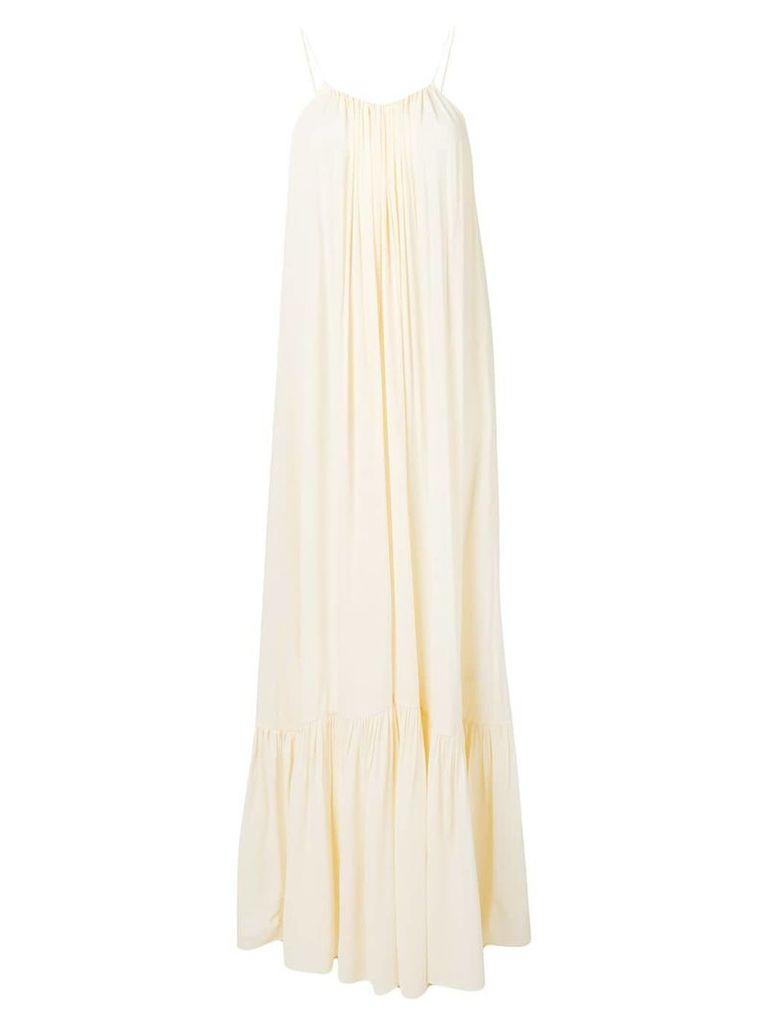 Erika Cavallini spaghetti strap dress - Neutrals