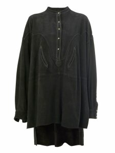 Faith Connexion oversized shirt dress - Black