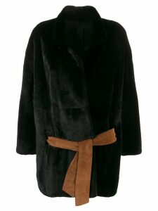 Liska mink fur jacket - Black