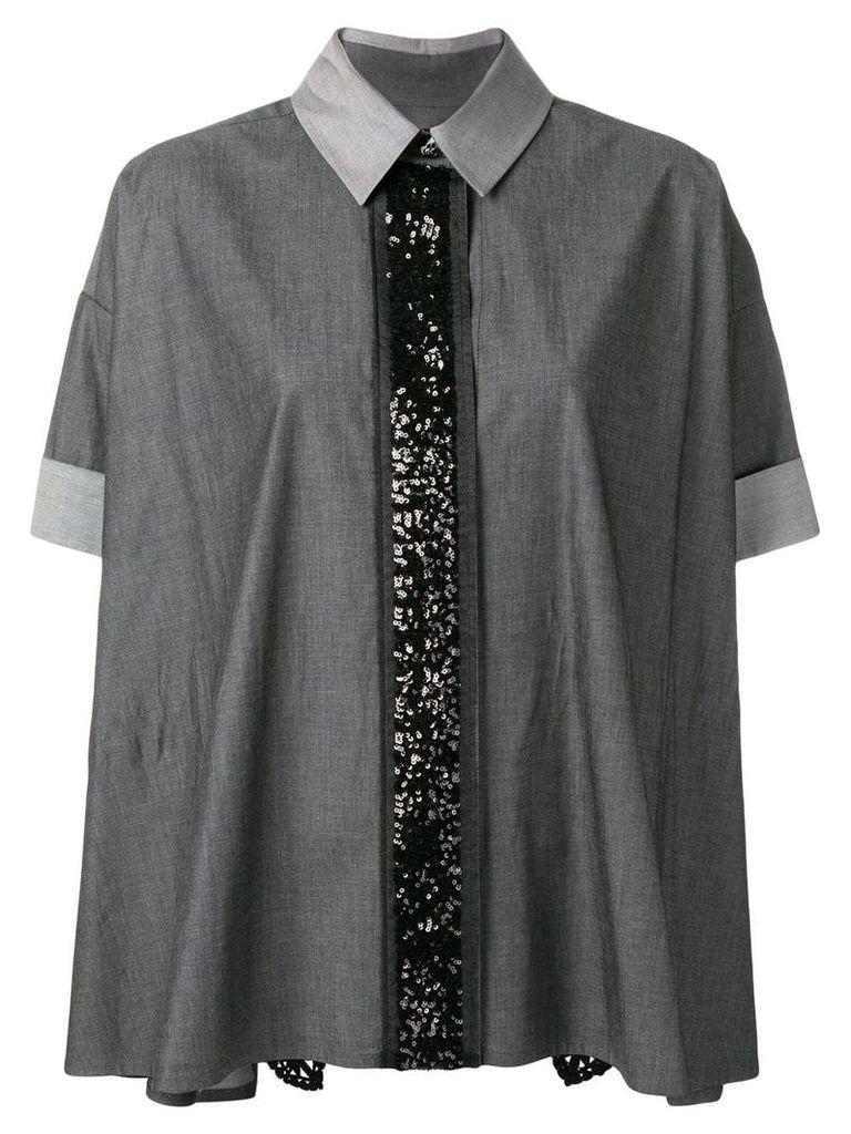 Antonio Marras sequin embelished shirt - Black