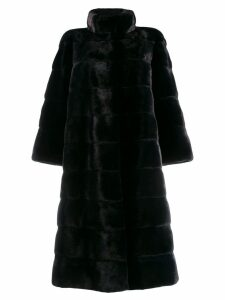 Liska fur midi coat - Blue
