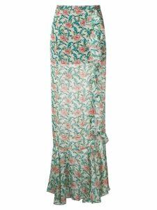 Raquel Diniz St Tropez maxi skirt - Green