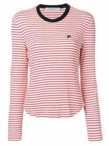 Philosophy Di Lorenzo Serafini striped jersey top - White