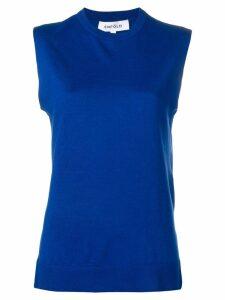 Enföld sleeveless jumper - Blue