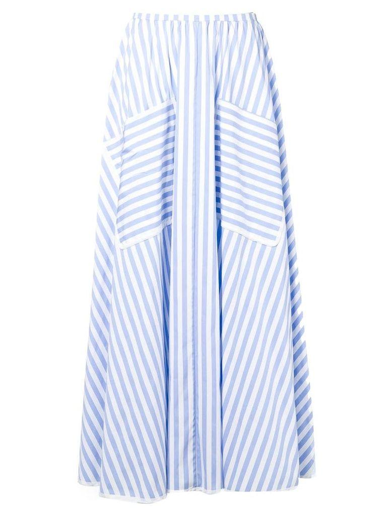 Smarteez striped midi skirt - Blue