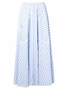 Smarteez striped midi skirt - Blue