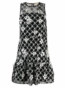 Michael Michael Kors ruffled floral dress - Black
