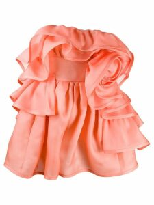 Marc Jacobs rose ruffled dress - Pink