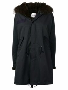 Liska hooded parka coat - Blue