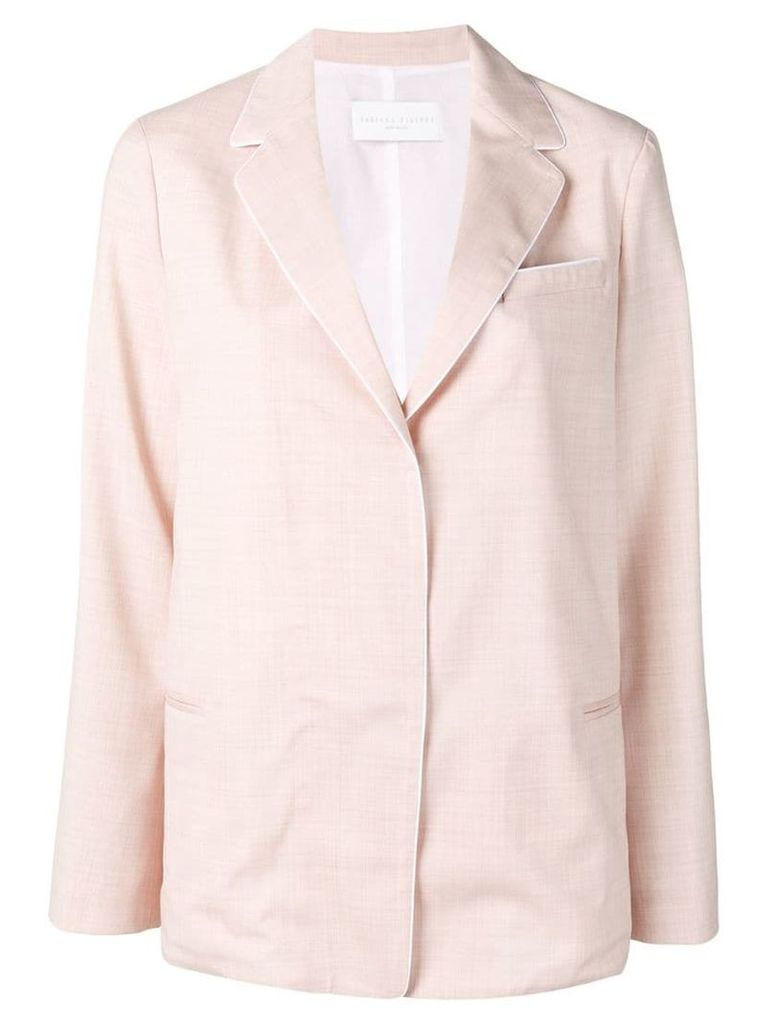 Fabiana Filippi tailored blazer jacket - Pink