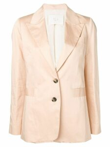 Tela classic single-breasted blazer - Neutrals