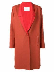 Fabiana Filippi single breasted overcoat - Red