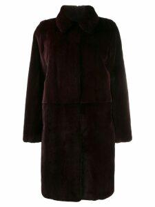 Liska collared coat