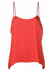 Semicouture loose cami top - Red